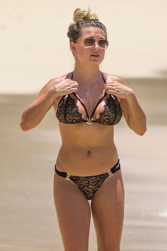 ZARA HOLLAND in Bikini at a Beach in Barbados 04/13/2019