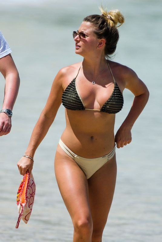 ZARA HOLLAND in Bikini at a Beach in Barbados 04/16/2019