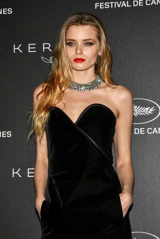 ABBEY LEE KERSHAW at Kering Women in Motion Awards Dinner in Cannes 05/19/2019