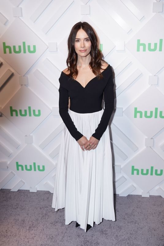 ABIGAIL SPENCER at Hulu 2019 Upfront Presentation in New York 05/01/2019