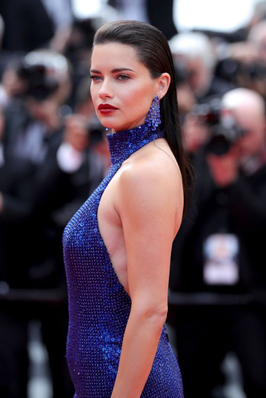 ADRIANA LIMA at Oh Mercy! Screening at 2019 Cannes Film Festival 05/22/2019