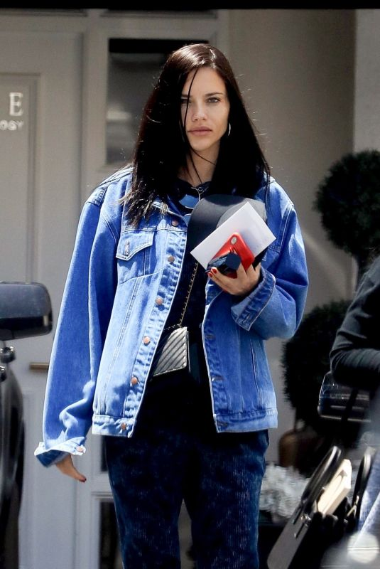 ADRIANA LIMA Out and About in Beverly Hills 05/01/2019