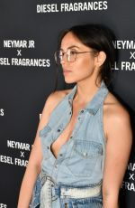 AGATHE AUPROUX at Diesel Spirit of the Brave Perfume Launch Party in Paris 05/21/2019