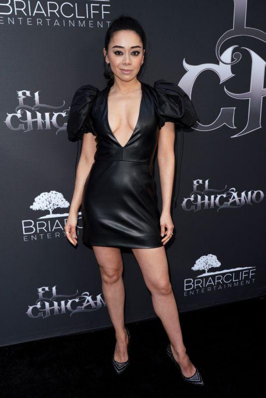 AIMEE GARCIA at El Chicano Special Screening in Hollywood 04/30/2019