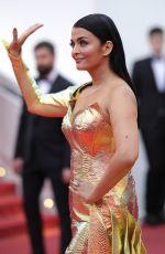 AISHWARYA RAI at A Hidden Life Premiere in Cannes 05/19/2019