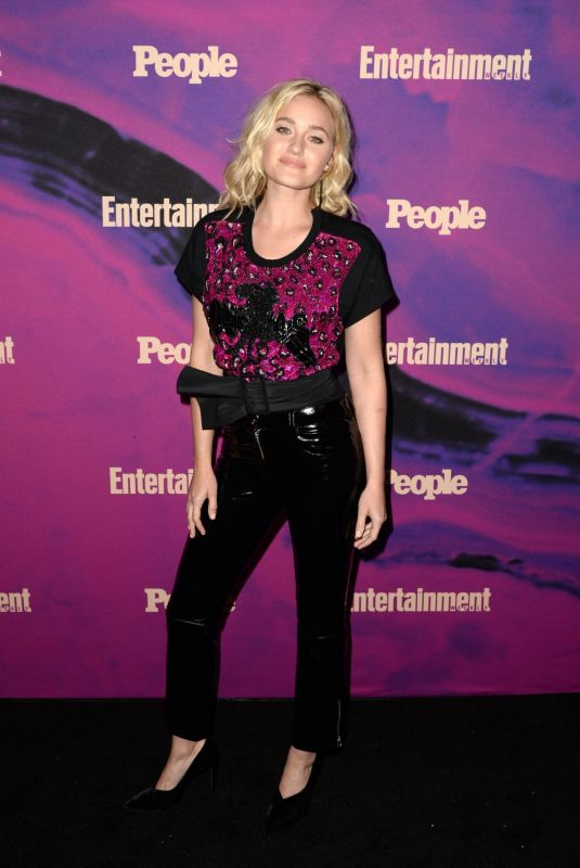 AJ MICHALKA at Entertainment Weekly & People New York Upfronts Party 05/13/2019