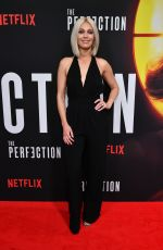 ALAINA HUFFMAN at The Perfection Screening in New York 05/21/2019