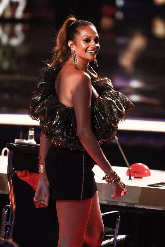 ALESHA DIXON at Britain's Got Talent 05/27/2019