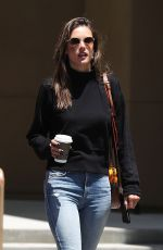 ALESSANDRA AMBROSIO Out in Hollywood 05/29/2019