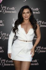 ALEXANDRA CANE at Say it with Diamonds Store Launch Party in Manchester 05/16/2019