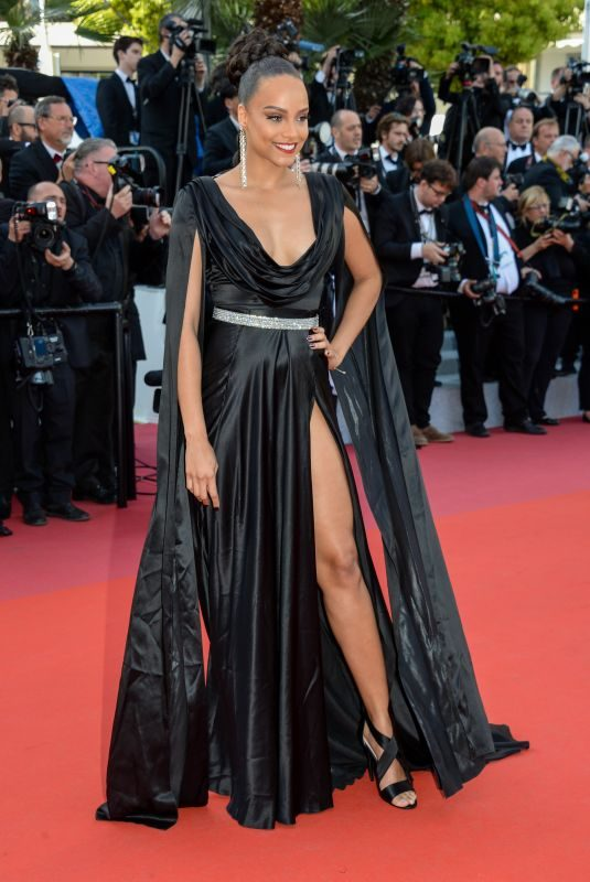 ALICIA AYLIES at Rocketman Screening at 2019 Cannes Film Festival 05/16/2019