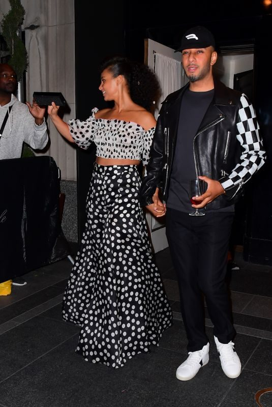 ALICIA KEYS at MET Gala After-party in New York 05/06/2019