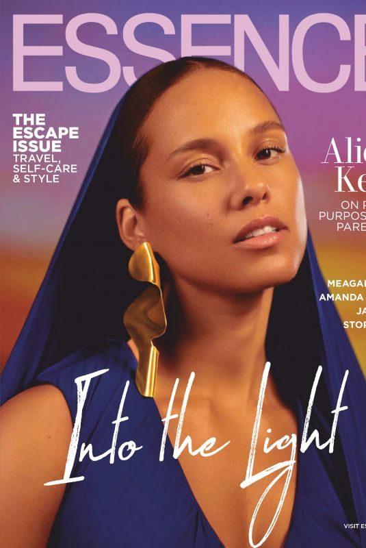 ALICIA KEYS in Essence Magazine, June 2019