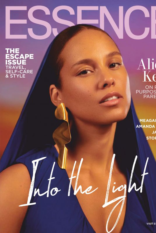 ALICIA KEYS in Essence Magazine, June 2019