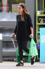 ALISON KING Shopping at a Petrol Station in Cheshire 05/22/2019