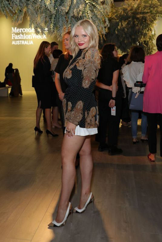 ALLI SIMPSON at Leo & Lin Runway Show in Sydney 05/15/2019