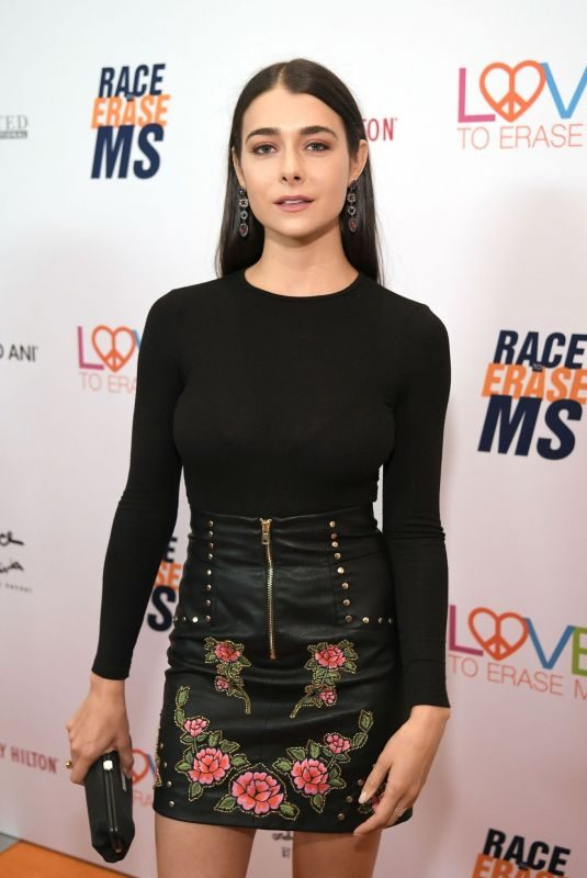 ALLISON PAIGE at Race to Erase MS Gala in Beverly Hills 05/10/2019