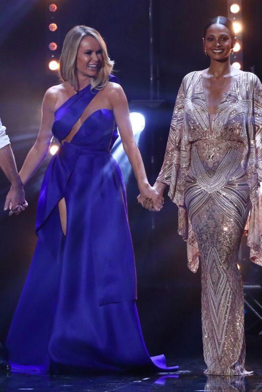 AMANDA HOLDEN and ALESHA DIXON at Britain's Got Talent 05/28/2019
