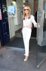 AMANDA HOLDEN Arrives at Global Radio in London 05/14/2019