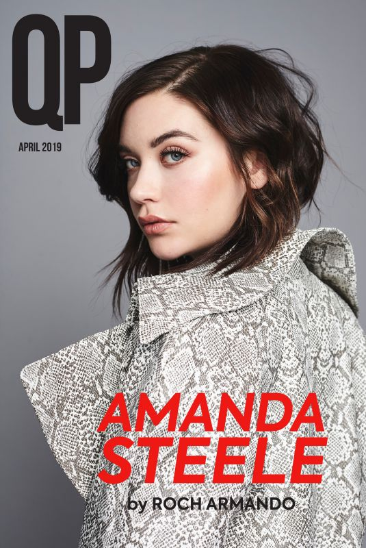AMANDA STEELE in QP Magazine, April 2019
