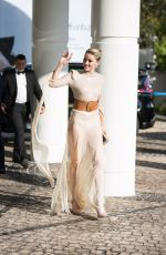 AMBER HEARD Arrives at Martinez Hotel at 2019 Cannes Film Festival 05/15/2019