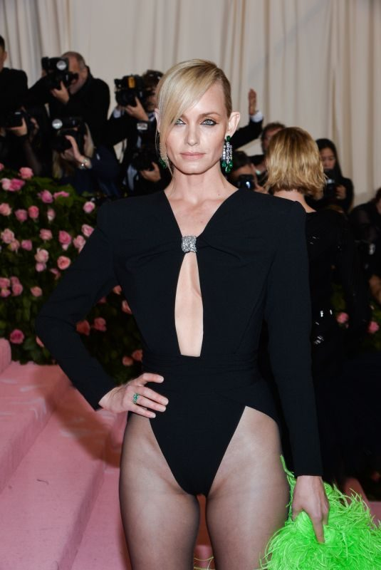 AMBER VALLETTA at 2019 Met Gala in New York 05/06/2019