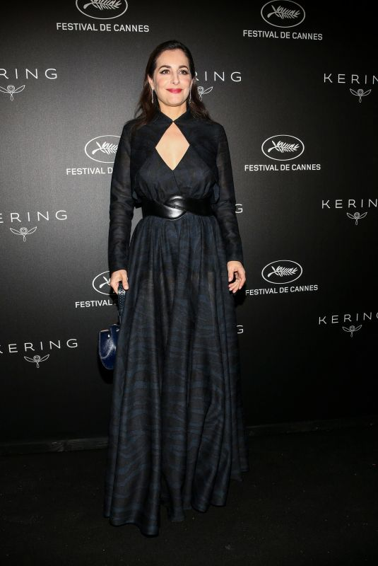 AMIRA CASAR at Kering Women in Motion Awards Dinner in Cannes 05/19/2019
