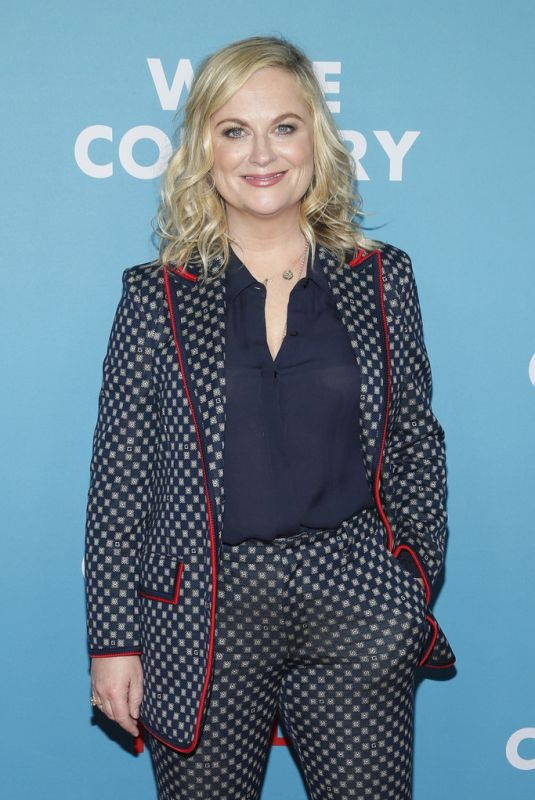 AMY POEHLER at Wine Country Premiere in New York 05/08/2019