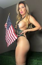 ANA BRAGA at Memorial Day Photoshoot in Honor of Armed Forces 05/22/2019