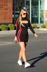 ANA BRAGA in Tight Dress Out in Los Angeles 05/06/2019