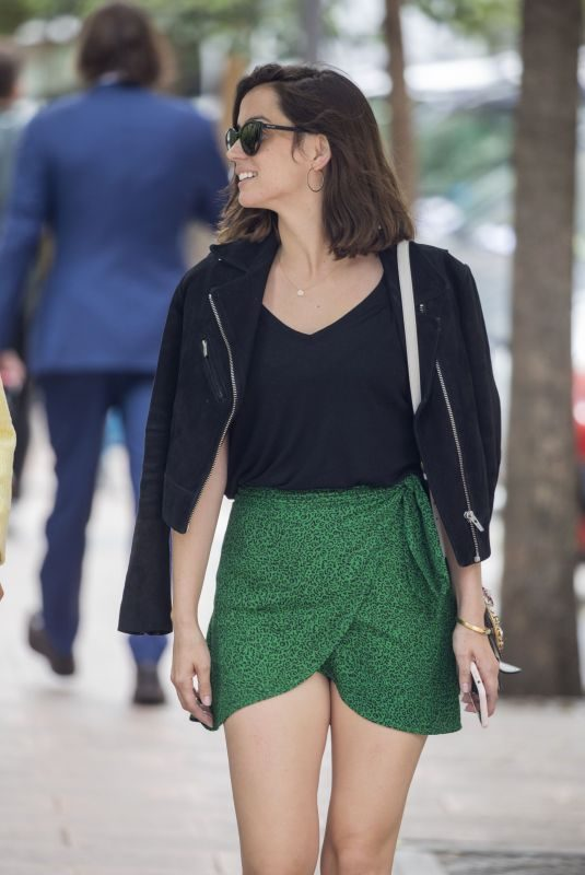 ANA DE ARMAS Out for Lunch in Madrid 05/23/2019