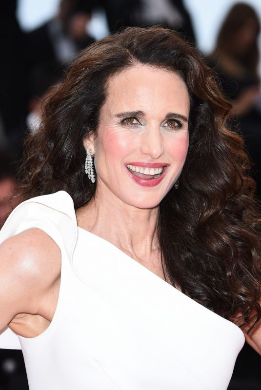 ANDIE MACDOWELL at The Best Years of a Life Screening at Cannes Film Festival 05/18/2019