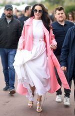 ANDIE MACDOWELL Out at Cannes Film Festival 05/19/2019