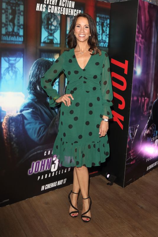 ANDREA MCLEAN at John Wick: Chapter 3 - Parabellum Special Screening in London 05/03/2019