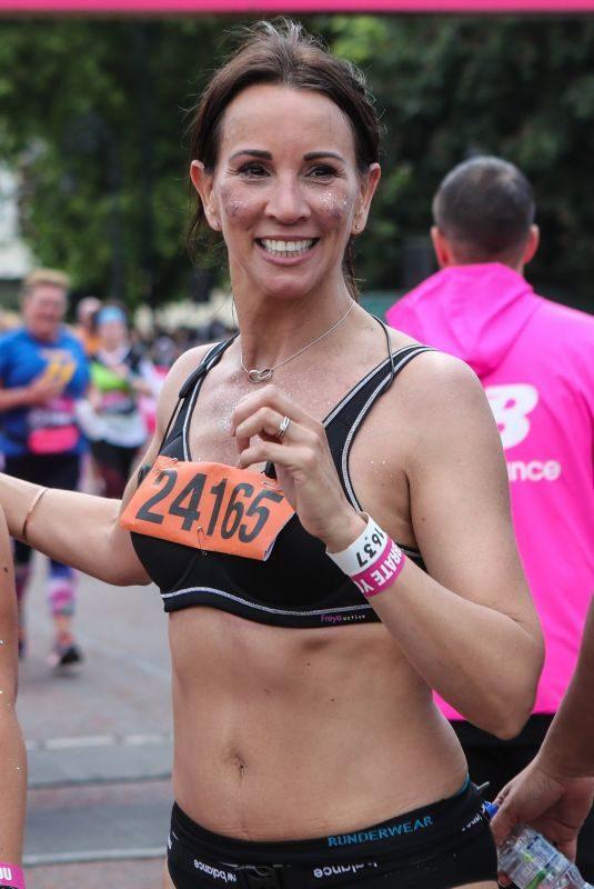 ANDREA MCLEAN at Vitality 10K Run in London 05/27/2019