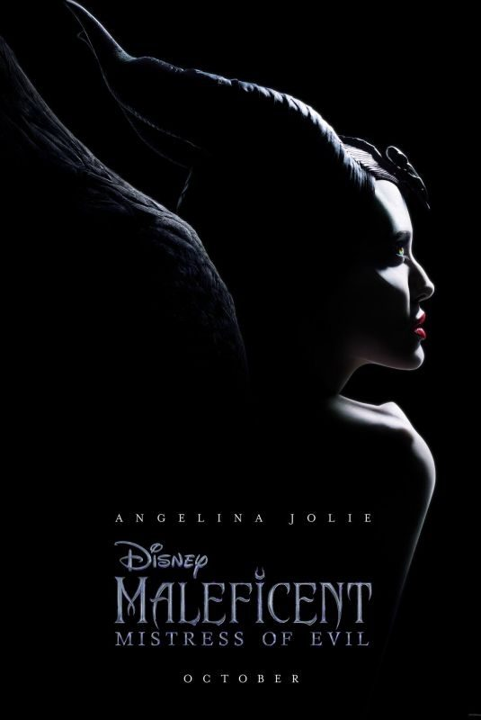 ANGELINA JOLIE  – Maleficent: Mistress of Evil (2019) Poster and Trailer