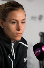 ANGELIQUE KERBER at Mutua Madrid Open Press Conference 06/07/2019