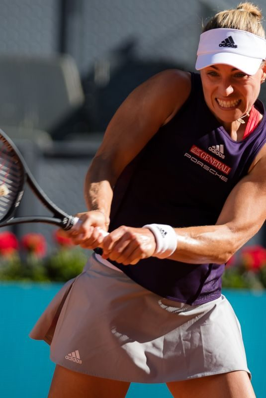 ANGELIQUE KERBER at Mutua Madrid Open Tennis Tournament in Madrid 05/05/2019