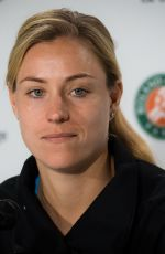 ANGELIQUE KERBER at Press Conference at Roland Garros French Open Tournament in Paris 05/24/2019