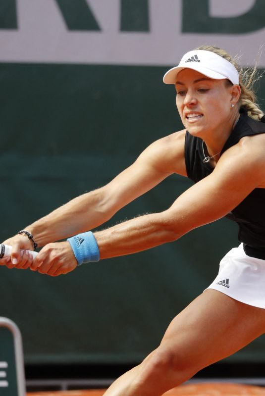 ANGELIQUE KERBER at Roland Garros French Open Tournament 05/26/2019
