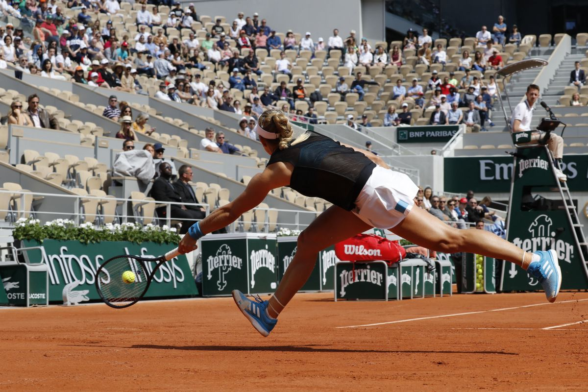 ANGELIQUE KERBER At Roland Garros French Open Tournament