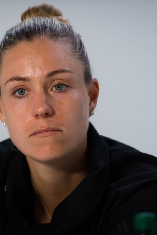 ANGELIQUE KERBER at Roland Garros French Open Tournament Press Conference in Paris 05/26/2019