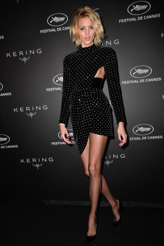 ANJA RUBIK at Kering Women in Motion Awards at Cannes Film Festival 05/19/2019