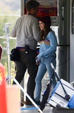 ANNA KENDRICK on the Set of Dummy in Los Angeles 05/21/2019