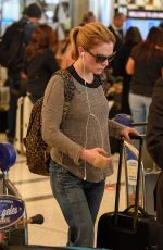ANNA PAQUIN at LAX Airport in Los Angeles 05/19/2019
