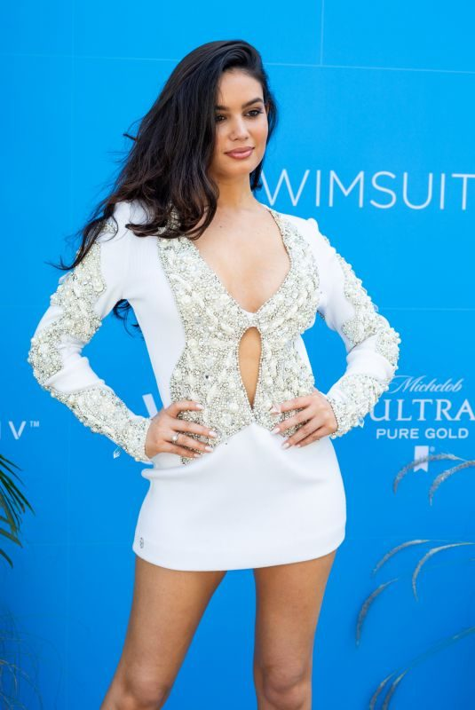 ANNE DE PAULA at Sports Illustrated Swimsuit on Location Day 2 at Ice Palace in Miami 05/11/2019