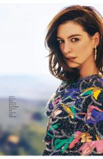 ANNE HATHAWAY in Grazia Magazine, Italy May 2019