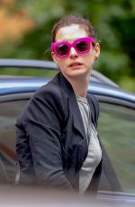 ANNE HATHAWAY Out and About in New York 05/17/2019