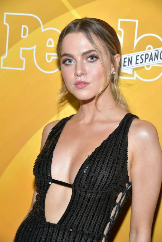 ANNE WINTERS at Los 50 Mas Bellos Celebration in West Hollywood 05/24/2019