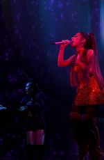 ARIANA GRANDE Performs at Staples Arena in Los Angeles 05/07/2019